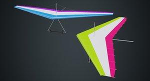 3D hang glider 1a