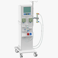 dialysis machine 3D model