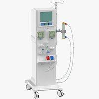 dialysis machine 3D model