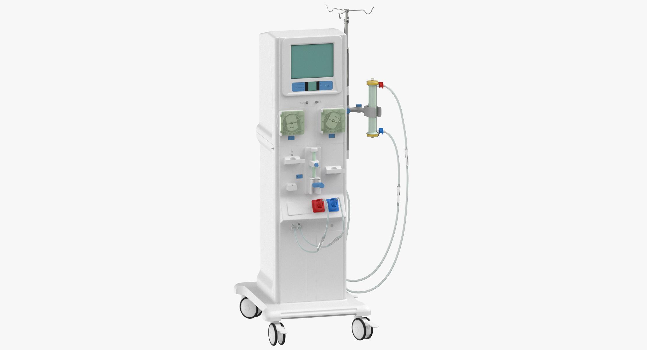 Dialysis machine 3D model - TurboSquid 1334709