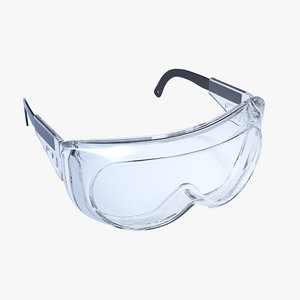 3D safety goggles
