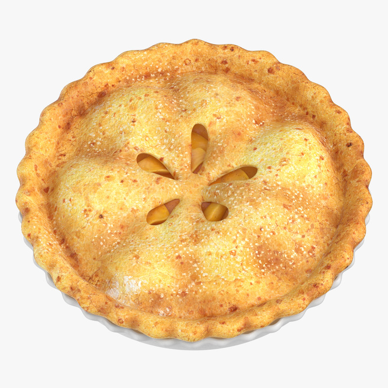 apple pie 01 3D model