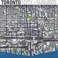 Toronto - Full City and Suburbs Collection