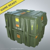 military case large ready 3D model