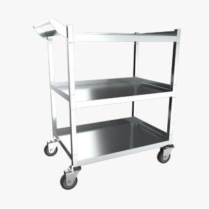 3D steel cart