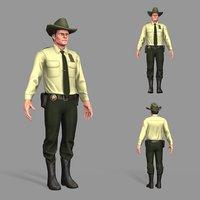 pbr police model