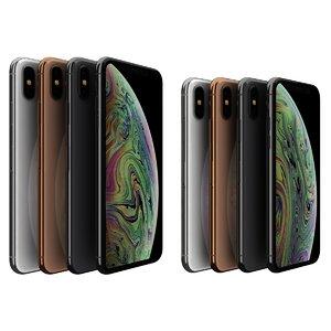 3D model apple iphone xs color