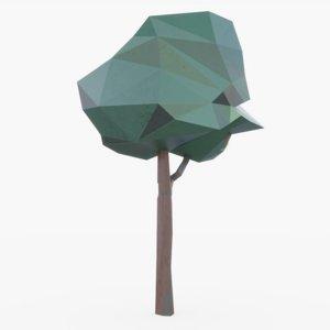 stylized animation 3D model