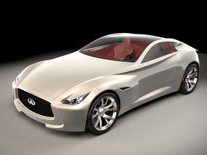 3D infiniti essence model