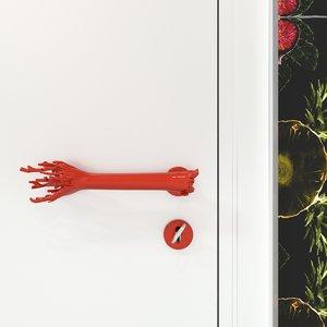3D door handle corallo