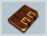 spellbook book 3D model