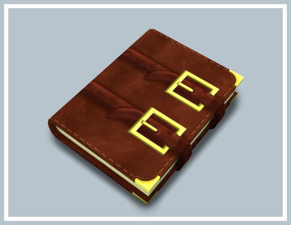 spellbook book 3D model