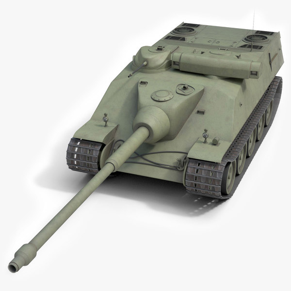 3D franch heavy tank amx model