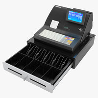 cash register sam4s 3D