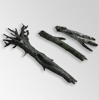 fallen trees lowpoly