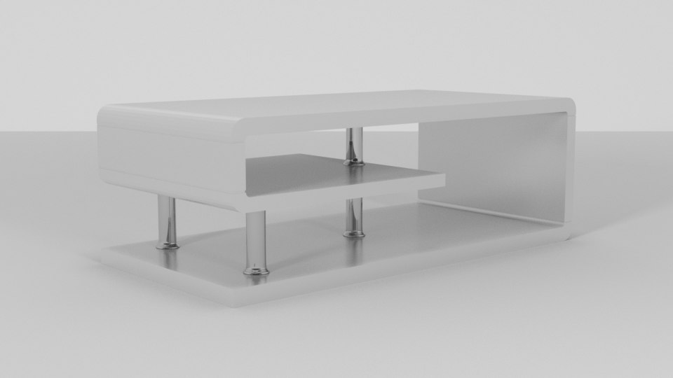 wade luther coffee table model