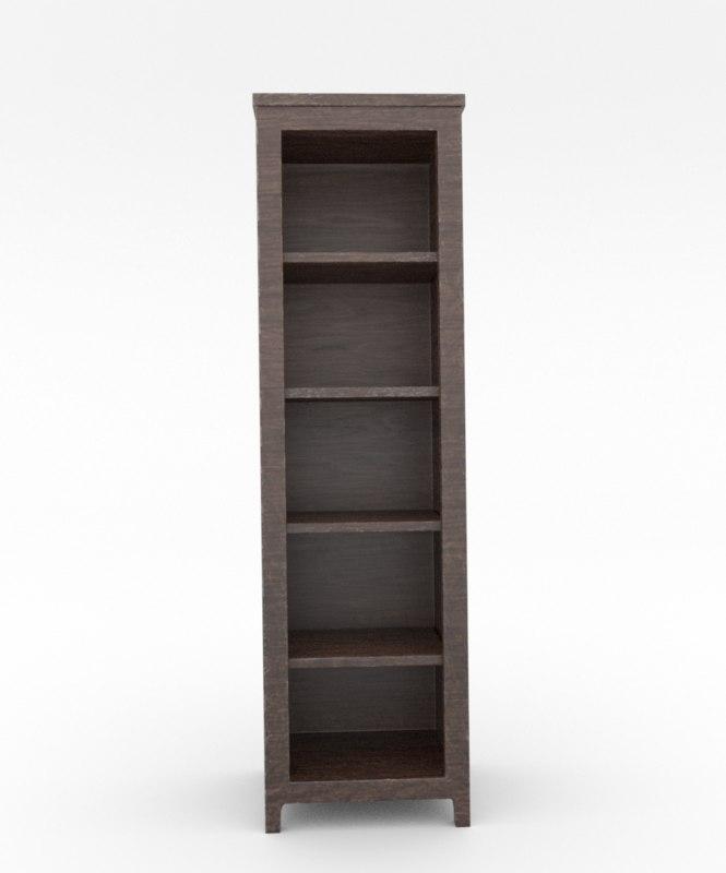 shelf tall 3D model