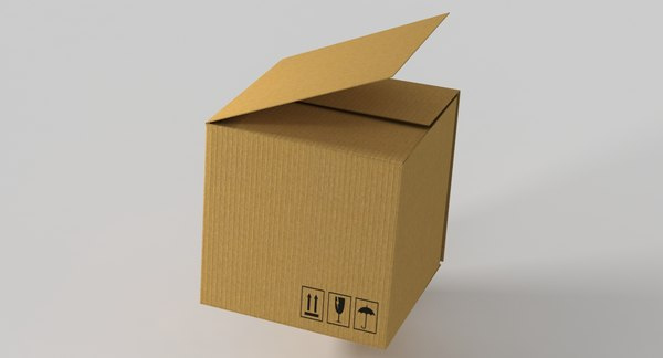 carton box 3D model