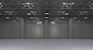 warehouse storehouse 3D model
