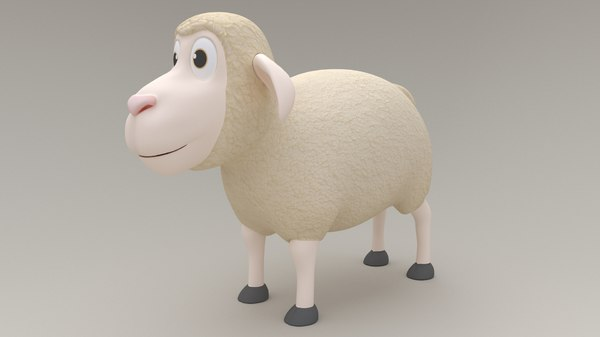 cartoon animation 3D model