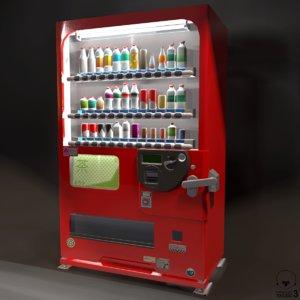 vending machines 3D model