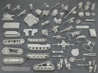 Tank Parts (60 pieces) - collection-1