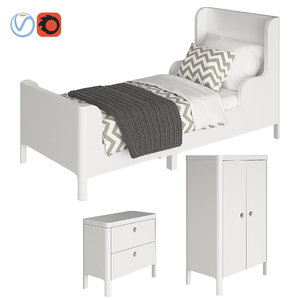 furniture ikea busunge 3D model
