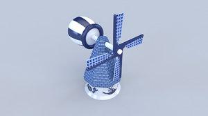 delft blue 3D