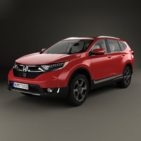3D honda cr-v touring