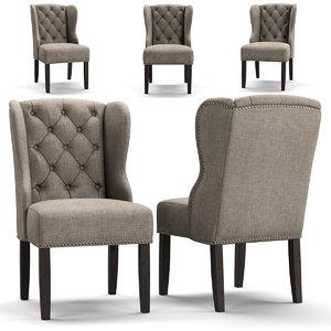 chair arhaus 3D