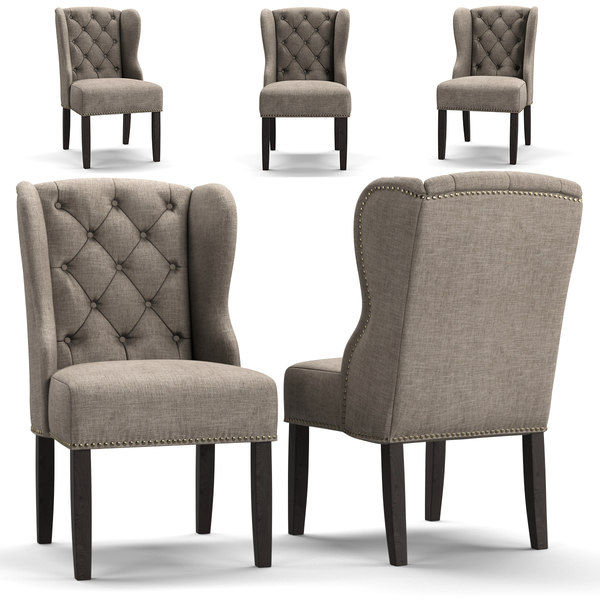 chair arhaus 3D