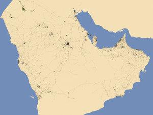 3D entire gulf region - model