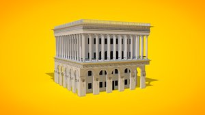 building conservatory 3D model