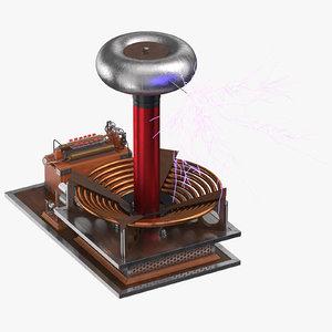 3D tesla coil 03