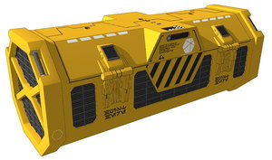kyber crystal shipment box 3D