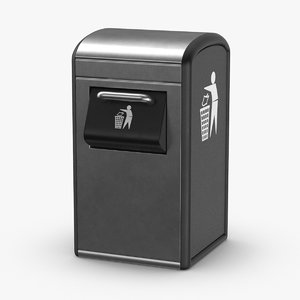 trash-can-01 3D model