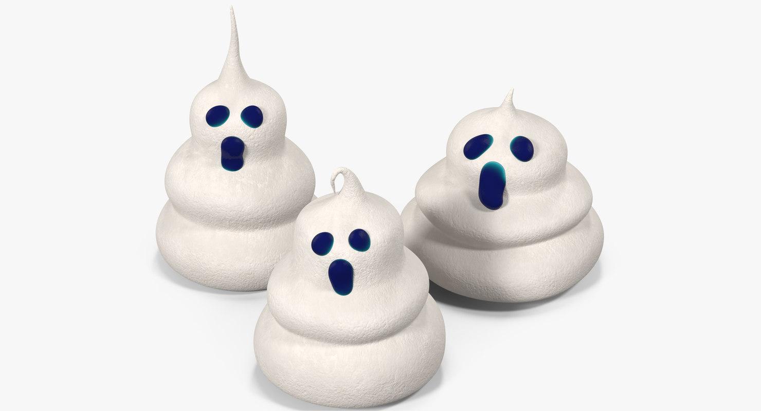ghost meringues model