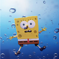 3D sponge bob model