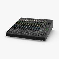 3D dj-sound-mixing-board