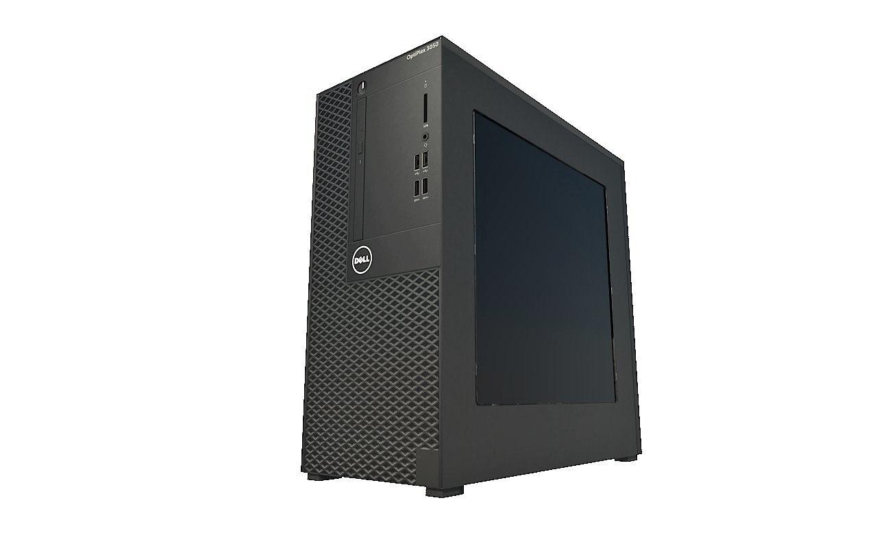 3D computer case model