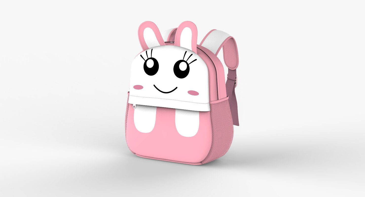 3D backbag kid v3