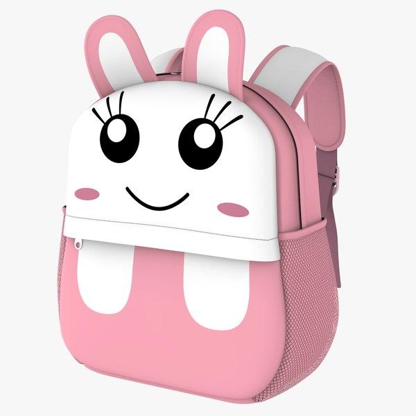 3D backbag kid v3