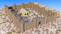 castle houses 3D