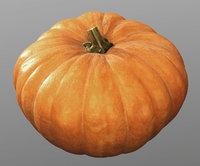 Pumpkin, high polly model, #6