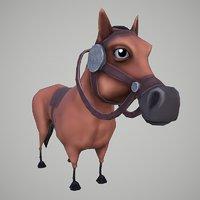 horse cartoon 3D