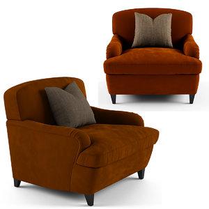 3D tosconova clayton armchair