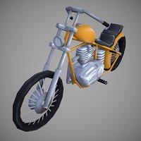 3D model chopperland cartoon