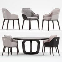 1743 silla chair 3D model