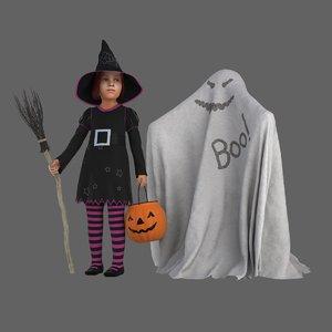 3D halloween costumes