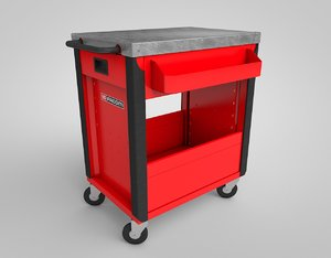 facom wheels-table service 3D model